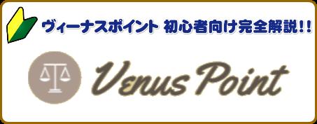 ヴィーナスポイント(VenusPoint)ポイント完全解説!!